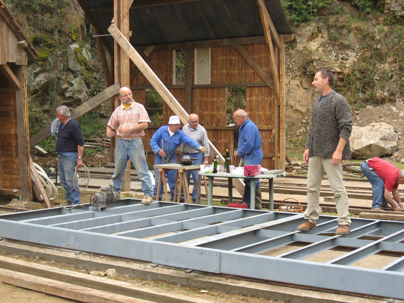 2007 Construction des chariots