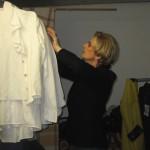 Préparation des costumes